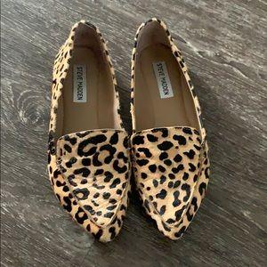 Steve Madden Leopard Print Flats Loafers